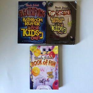 Set of 3 Bathroom Readers for Kids